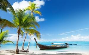 Palm-trees-boat-tropical-sea-beach-sand-clouds_1920x1200